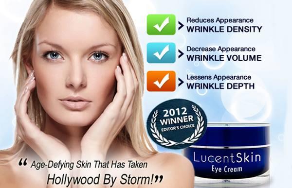 lucent skin eye cream