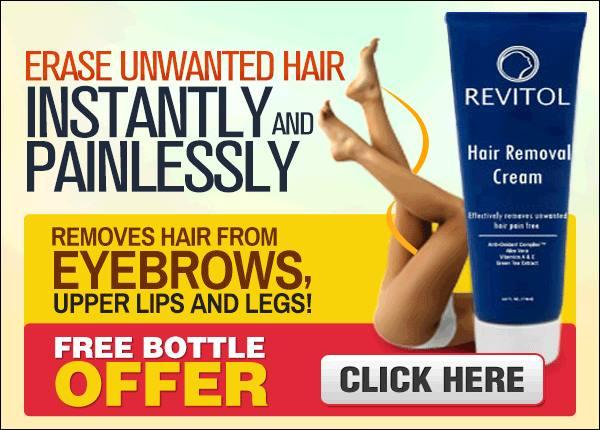 Revitol Hair Removal Cream Works For Men Women